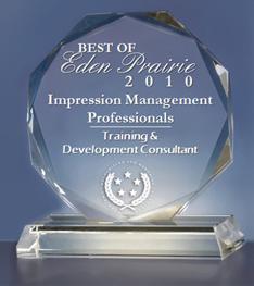 IMP Receives 2010 Best of Eden Prairie Award