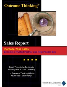 Free Outcome Thinking® Sales Report